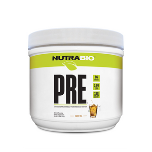 NutraBio Naturals PRE Workout V5 Natural