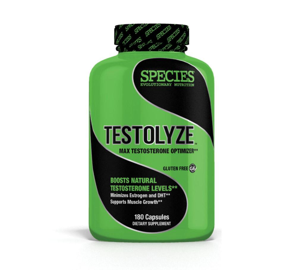 Species Nutrition TESTOLYZE: TESTOSTERONE OPTIMIZER