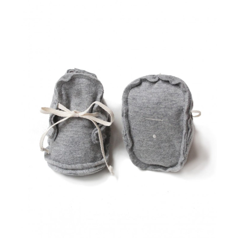 Baby Raw Edge Booties