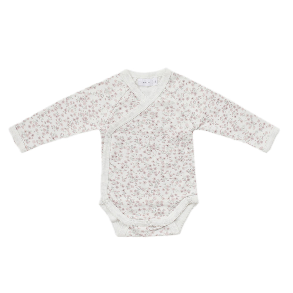 Posey Floral Wrap Onesie