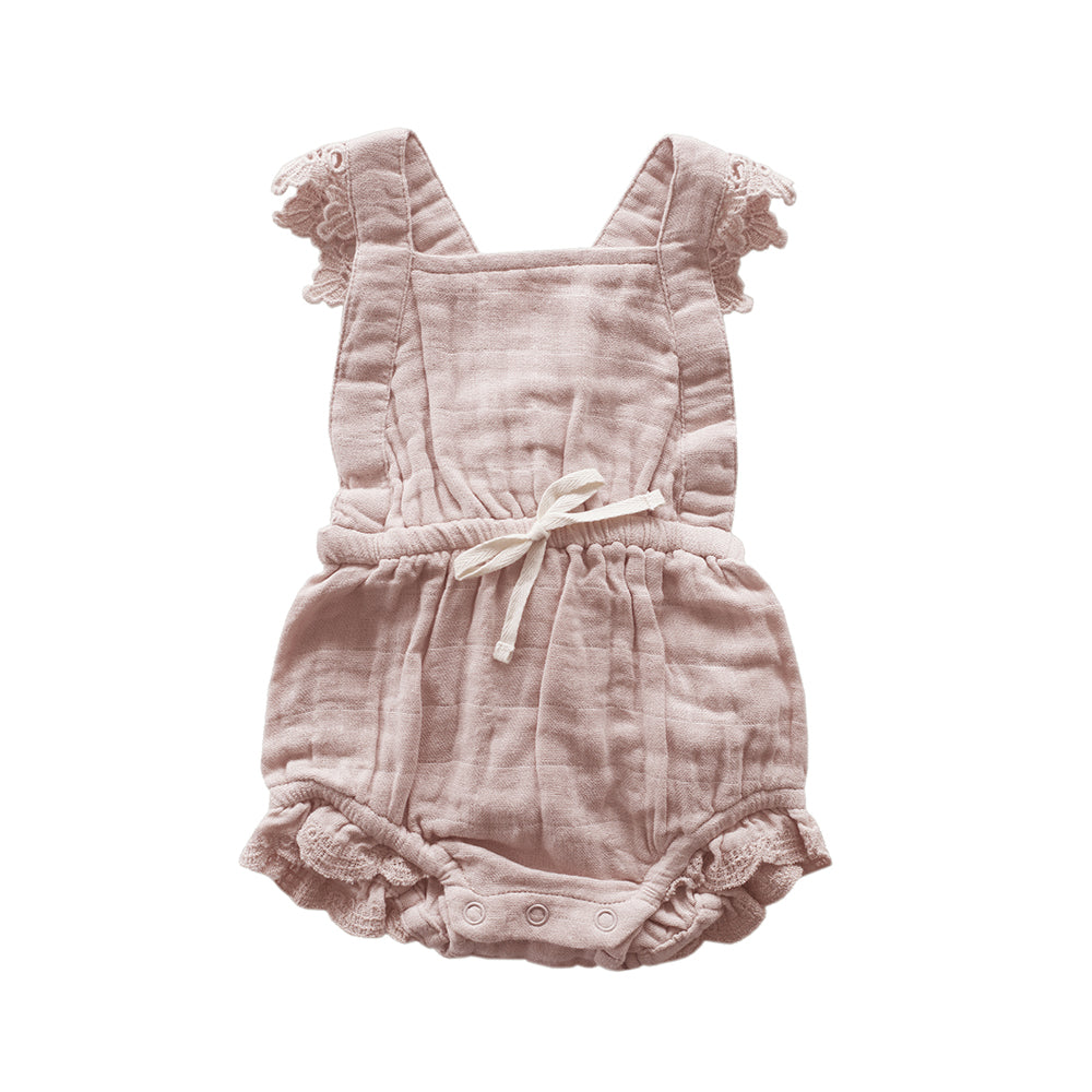 Lace Indie Playsuit