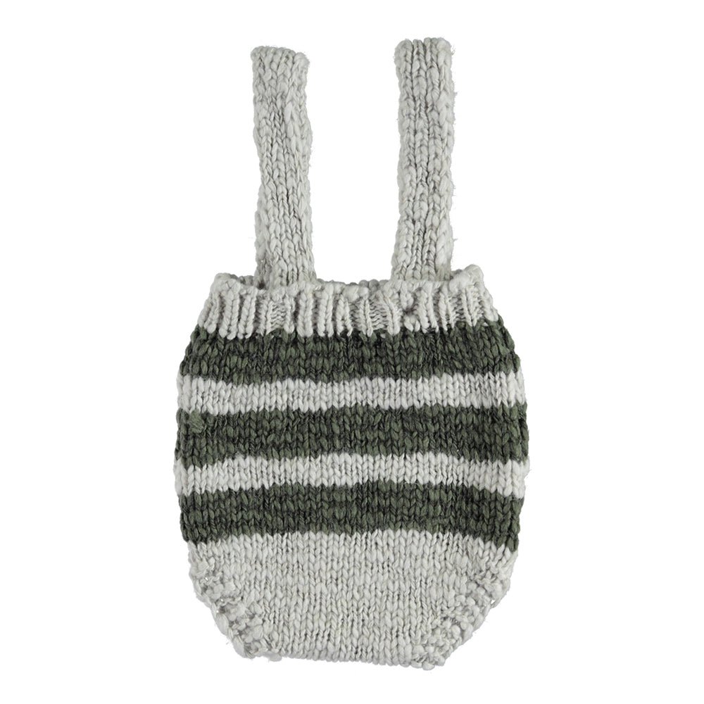 Knitted Baby Shorties With Straps