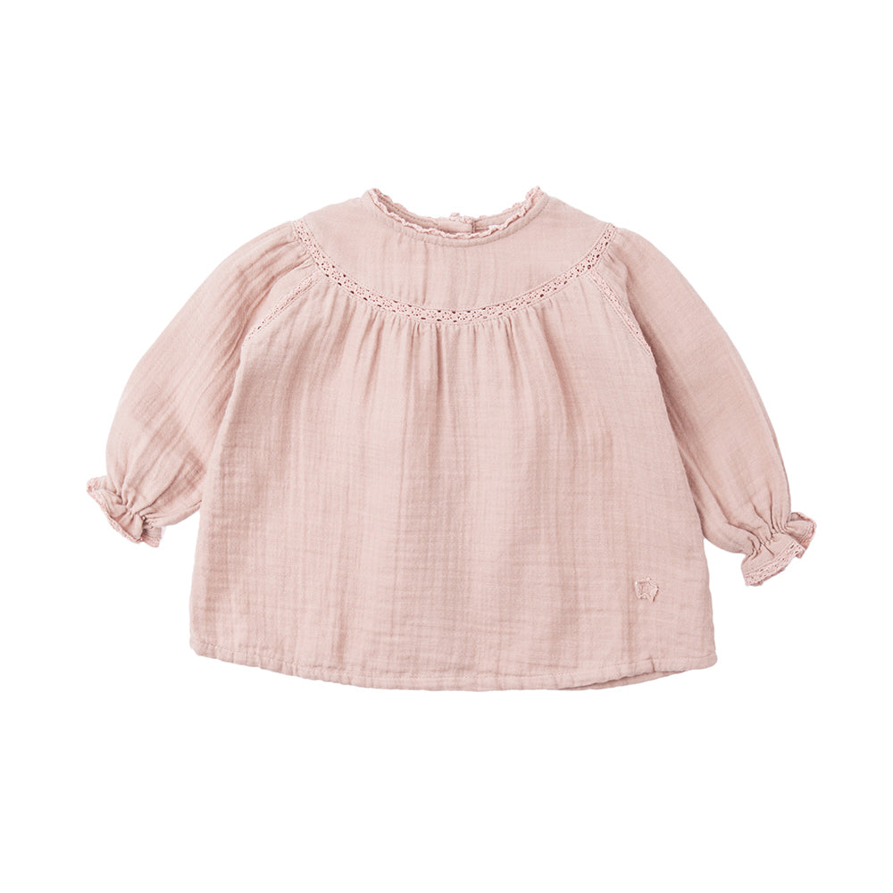 Lace Baby Blouse