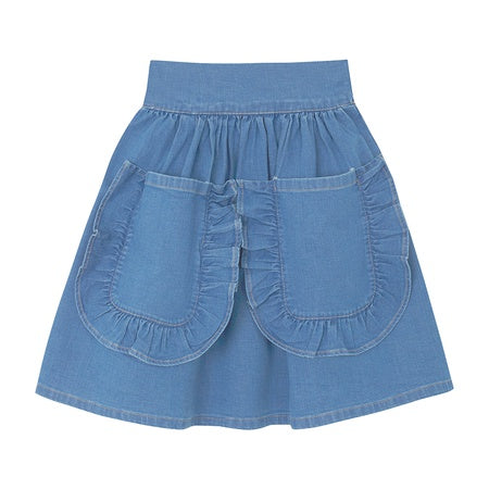 Folklore Denim Skirt