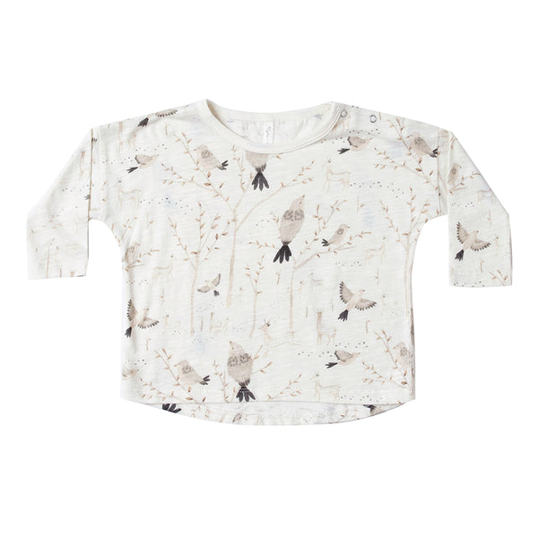 Winter Birds Longsleeve Tee