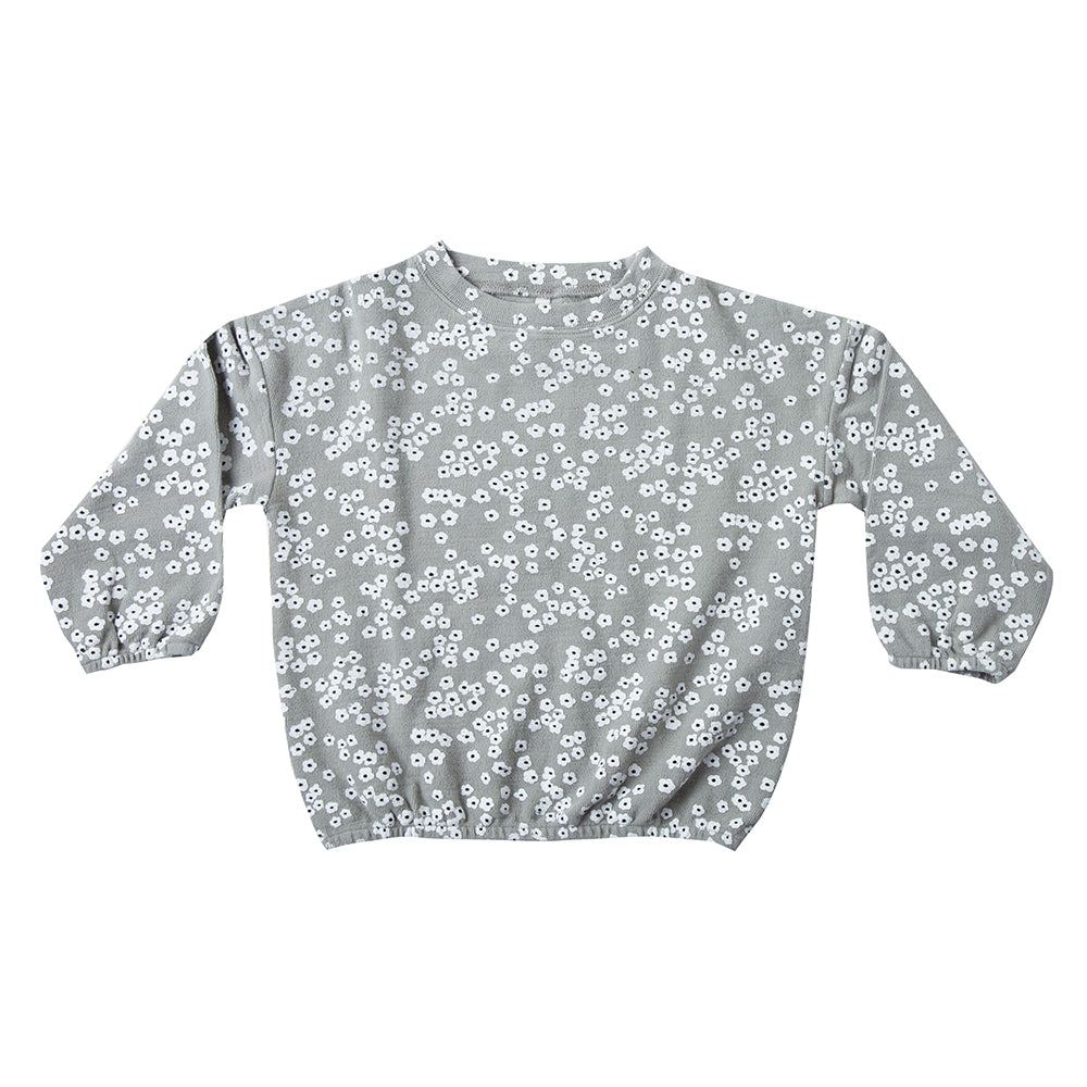 Flower Field Slouchy Pullover