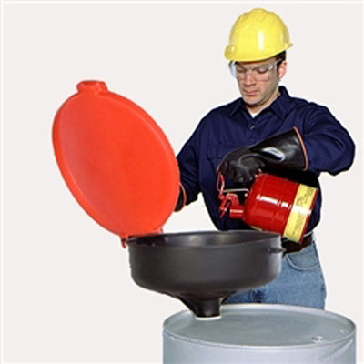 Drum Funnel With Cover (1960565866566)