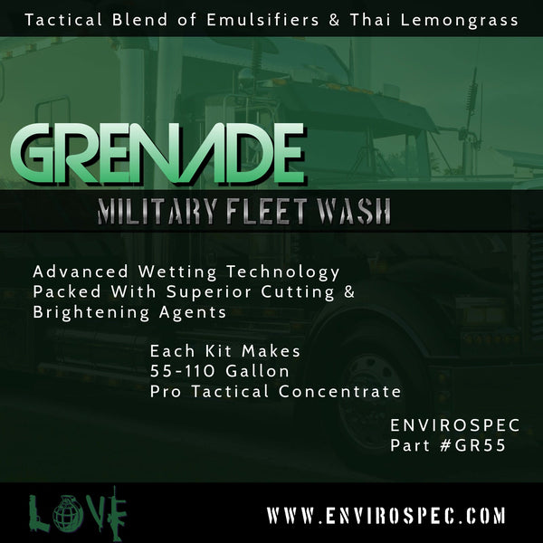 Grenade Tactical Fleet Wash