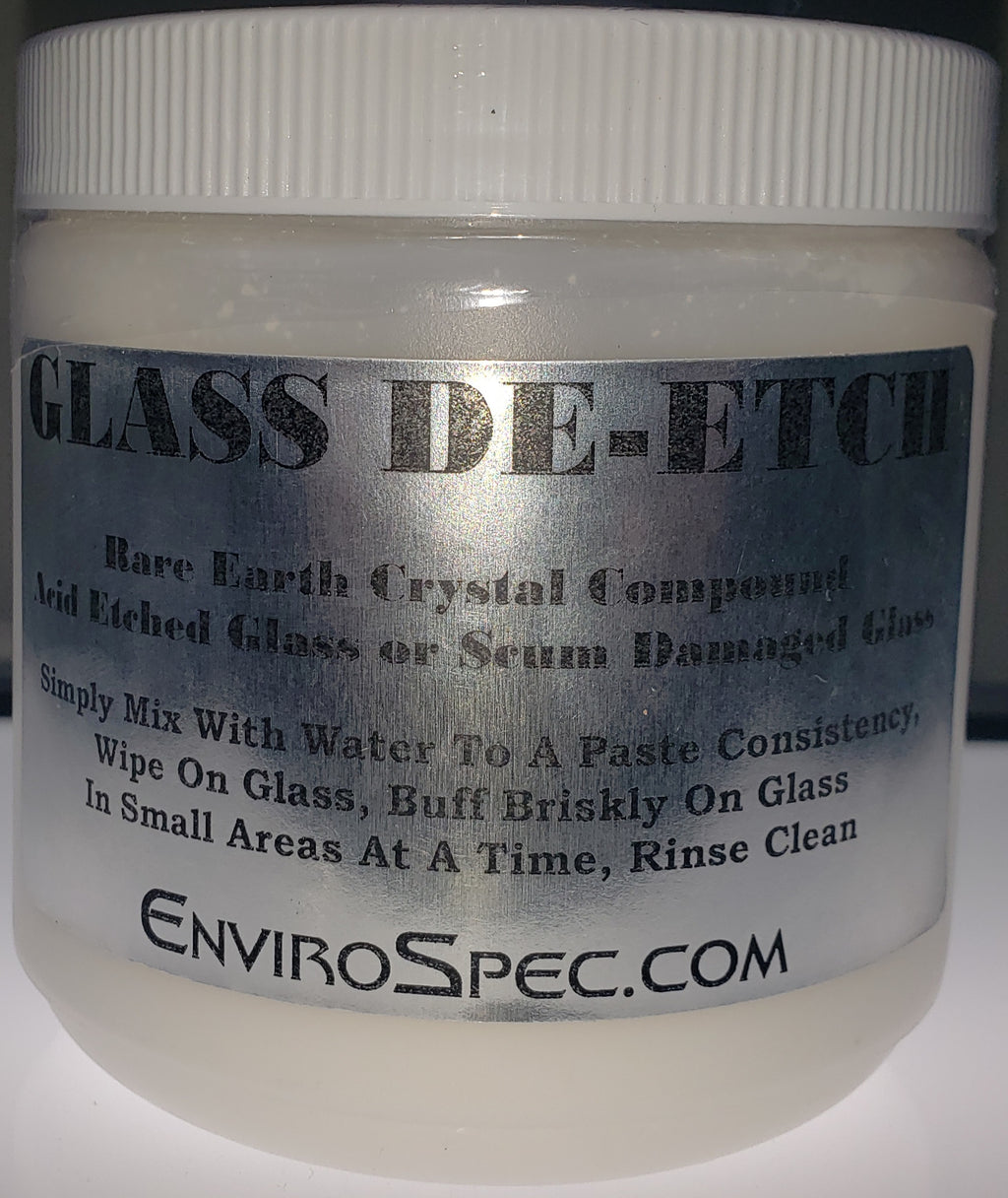 Glass De-Etch - Rare Earth Compound Restores Glass (2080116506694)