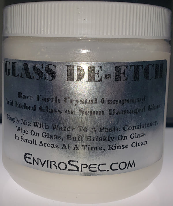 Glass De-Etch - Rare Earth Compound Restores Glass - EnviroSpec (2080116506694)