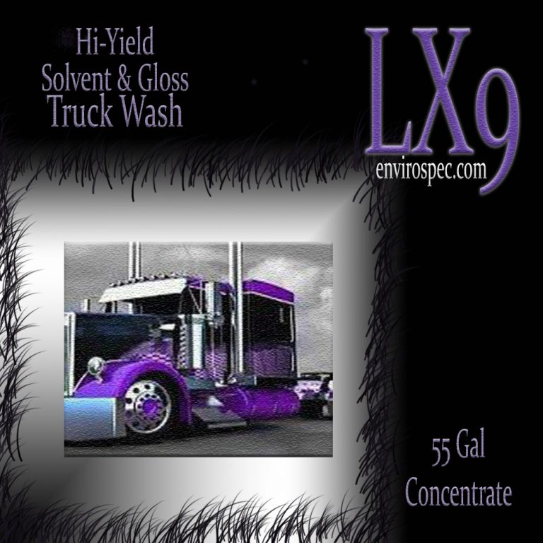 LX9 Initor - Truck Wash - 55 Gallon Kit - Part