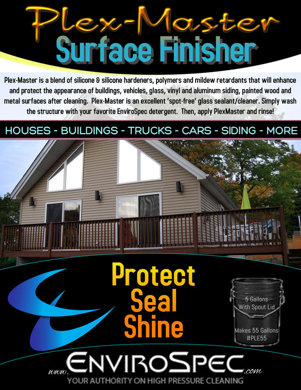 Plex-Master - Surface Finisher - Protect, Seal Shine - EnviroSpec (1960724201542)