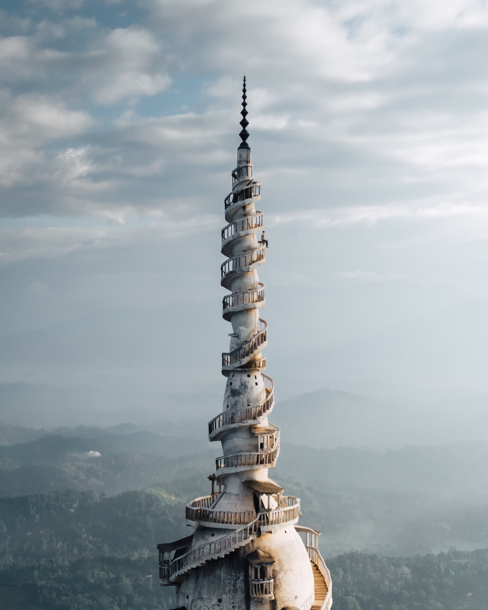 Ambuluwawa tower, Sri Lanka