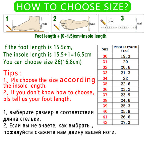 Led shoes for men & women HOW TO MEASURE FOOT SIZE rishrich.com