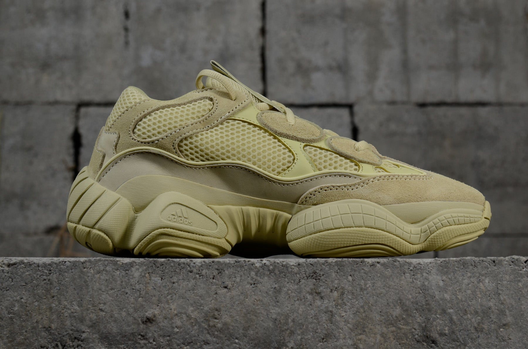 various colors dcf11 ede89 ADIDAS YEEZY 500 DESERT RAT SUPER MOON YELLOW