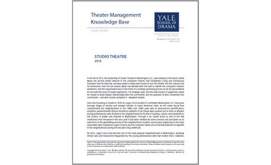 Alley Theatre: Dedication to a Resident Acting Company (2014)