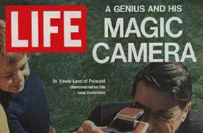 "Front cover of Life magazine with headline ""Magin Camera"""