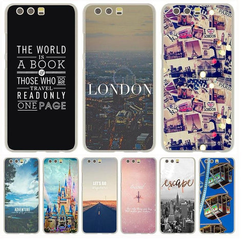 World Travel Theme Special Mobile Cases for Huawei