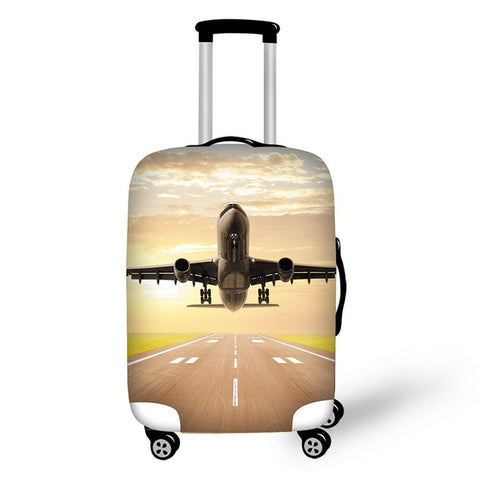 Waterproof Elastic Protective Cover for 18-30 Inch Trolley Suitcases