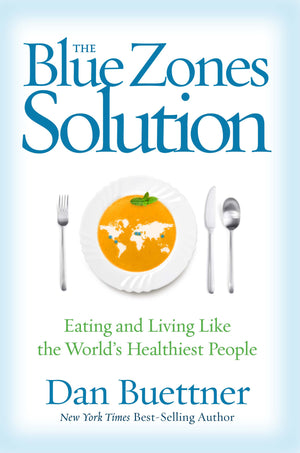 The Blue Zones Solution – Signed Hardcover