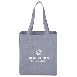 Blue Zones Grocery List Tote