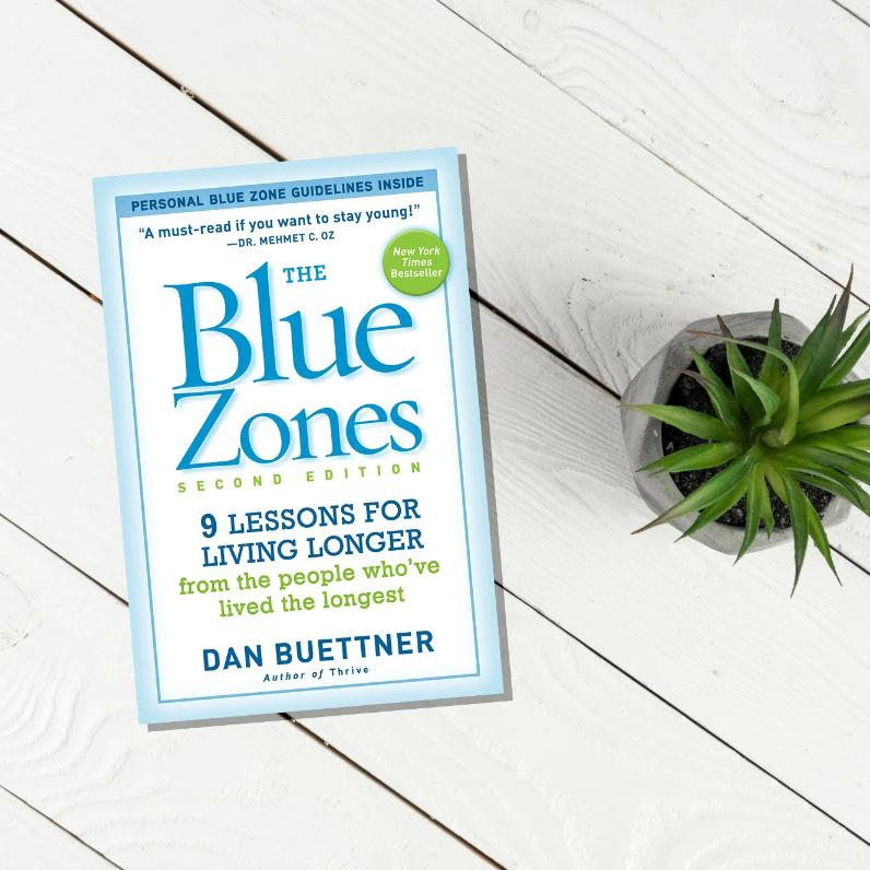 The Blue Zones - Signed Paperback Edition