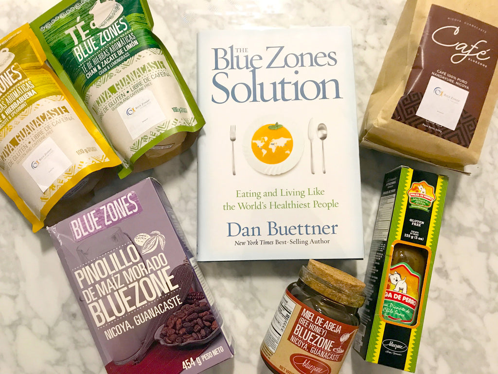 Blue Zones Longevity Box
