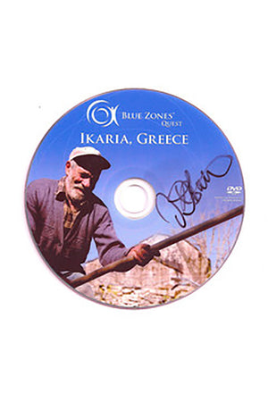Ikaria, Greece - Blue Zones DVD