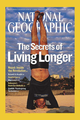 Signed Back Issue of the Original National Geographic Article
