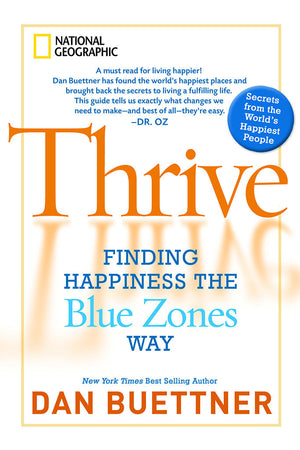 Thrive - Signed Hardcover