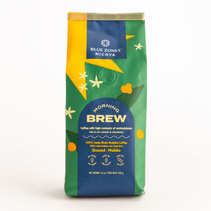 100% Coffee Morning Brew Ground/Whole Bean 340g