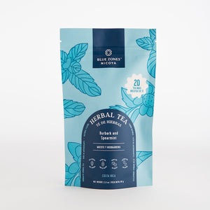 Burbark and Spearmint Tea 60g