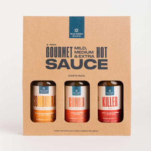 3 Pack Hot Sauce (Congo-Conbirra-Killer)