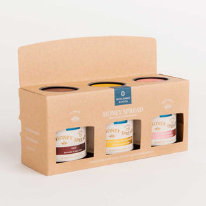 3 Pack Honey Spread (Guava- Pinneapple and Passion Fruit- Cacao)