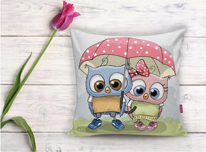 "Cute Cushion Cover - 17"" (45cmX45cm) Pillow Cushion Cover"