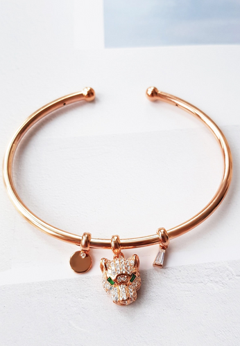 Rose Gold Tiger Bracelet