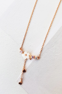 Rose Gold Blossoming Necklace