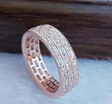 Load image into Gallery viewer, Silver Eternity Rings