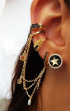 Load image into Gallery viewer, Chain Ear Cuff Stud Earring