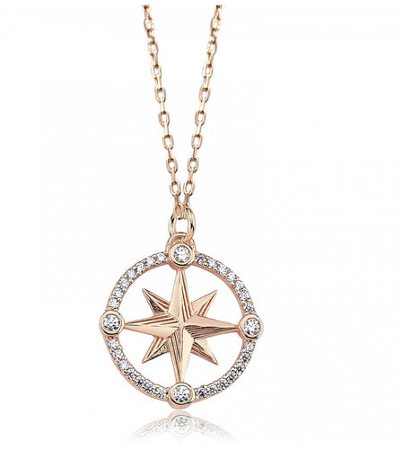Swarovski Compass Necklace