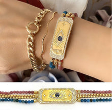 Load image into Gallery viewer, Natural Stone Gold Special Series Bracelet