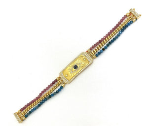 Natural Stone Gold Special Series Bracelet