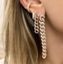 Load image into Gallery viewer, Rose Gold Plating Statement Earrings