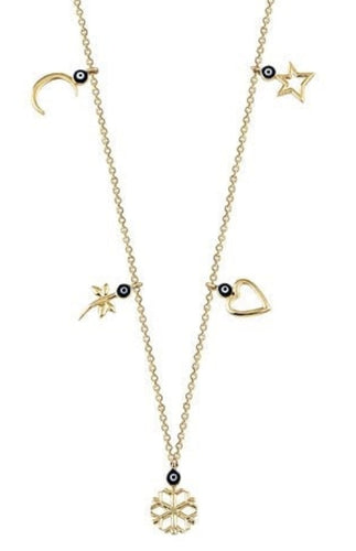 14ct Gold Charm Necklace