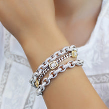 Load image into Gallery viewer, Baguette Statement Bracelet