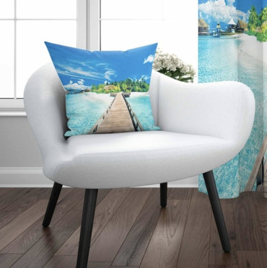 Beach View Cushion Cover - 17