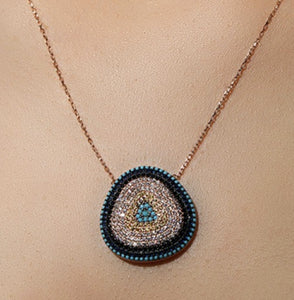 Symbolic Evil Eye Necklace