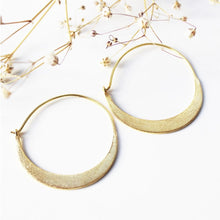 Load image into Gallery viewer, Gold Plated Hoop Earrings