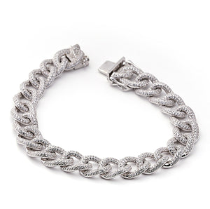 Stylish Sterling Silver Bracelet