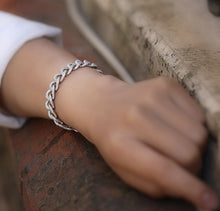 Load image into Gallery viewer, Stylish Sterling Silver Bracelet